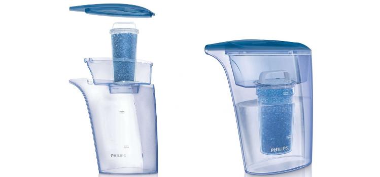 dzbanek filtrujący do odkamieniania wody