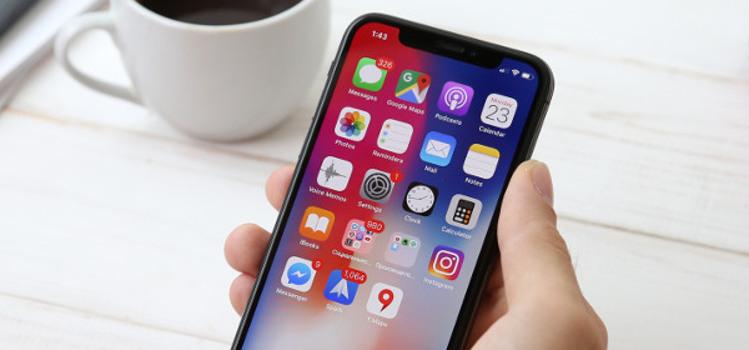 wyświetlacze w smartfonach