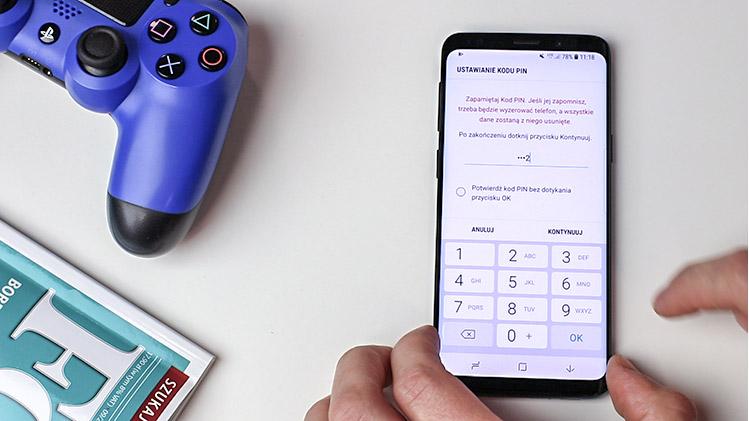 Jak ustawić blokadę ekranu smartfona - PIN
