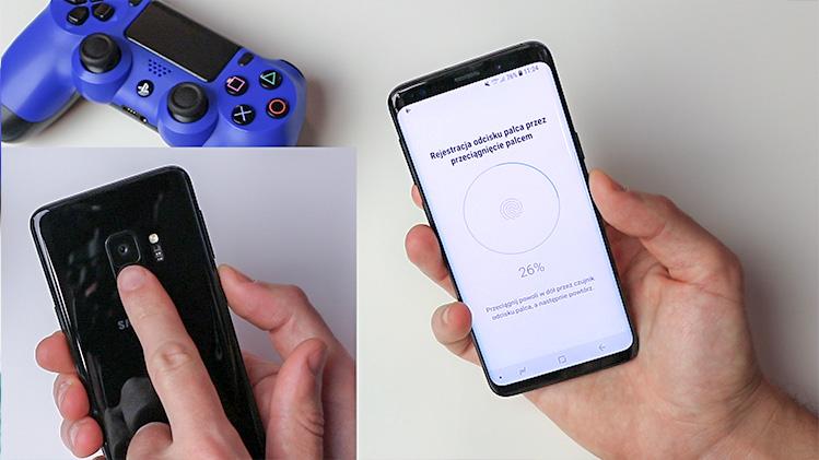Zabezpieczenia biometryczne smartfona