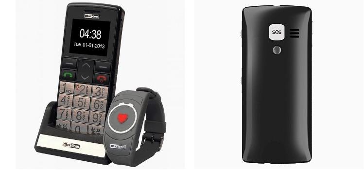 telefon dla seniora z przyciskiem SOS