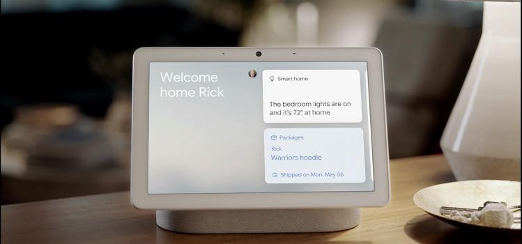 asystent głosowy google nest hub max