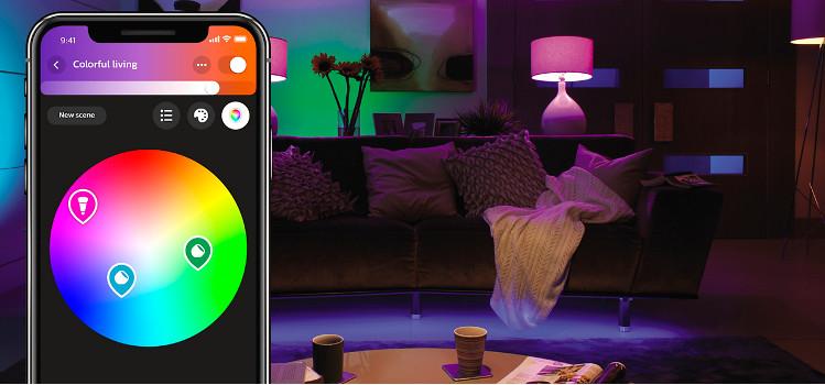 Inteligentne oświetlenie domu i mieszkania