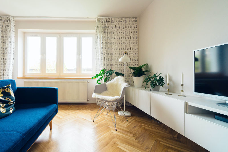 smart home w małym mieszkaniu
