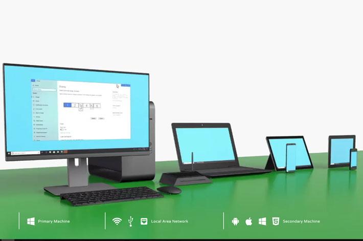 tablet jako monitor - spacedesk