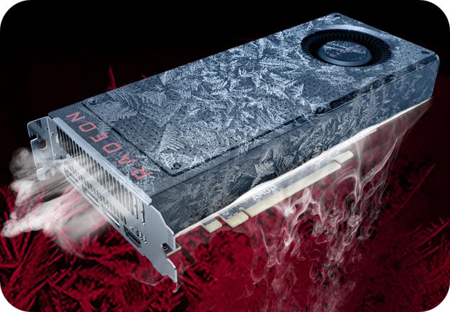 AMD Radeon RX 560 - chłodzenie