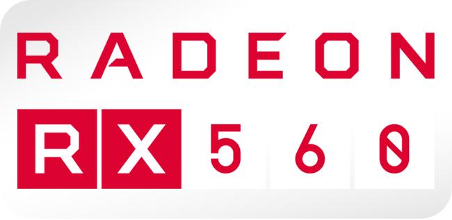 AMD Radeon RX 560 - logo