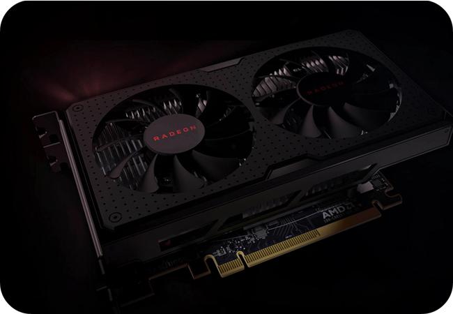 AMD Radeon RX 560 - przykładowy wygląd