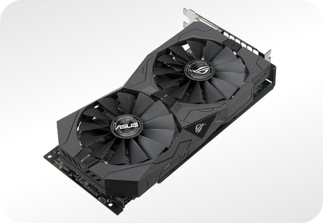 AMD Radeon RX 570 - przykładowa karta od ASUS