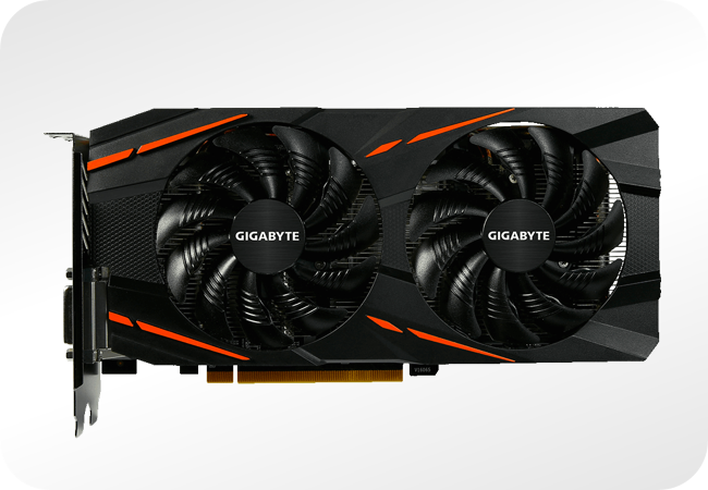 AMD Radeon RX 570 - przykładowa karta, chłodzenie