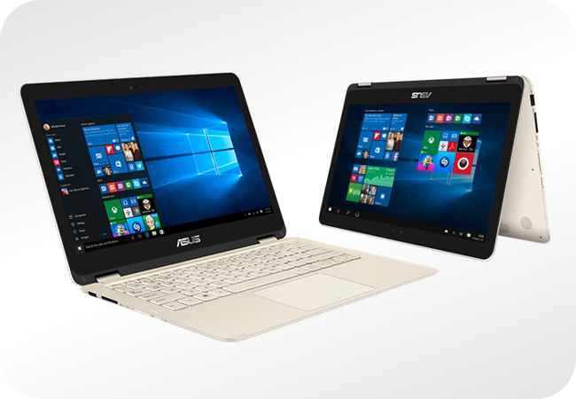 ASUS Zenbook Flip UX360CA z 4 funkcjami pracy