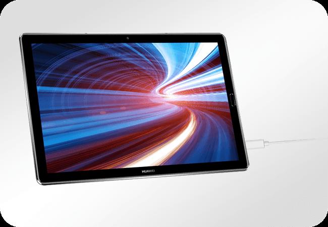 Huawei MediaPad M5 10.8 64GB - Wydajna bateria