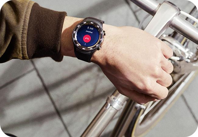 Huawei Watch 2 Sport BT - obsługa połączeń