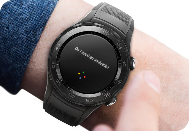 Huawei Watch 2 Sport BT - czytelny ekran