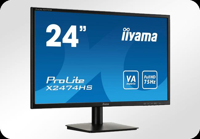 iiyama ProLite X2474HS - Front