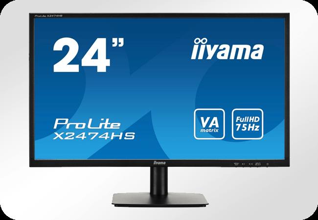 iiyama ProLite X2474HS - Rozdzielczość Full HD