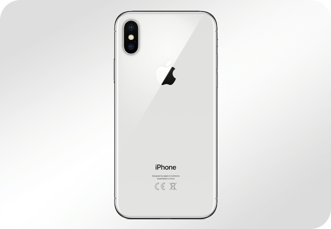 iPhone X 64GB Silver - Aparat z funkcją nagrywania 4K
