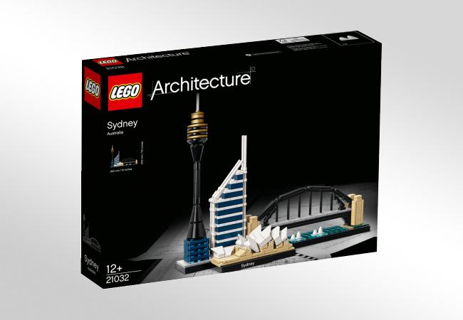 LEGO Architecture - jeden z zestawów