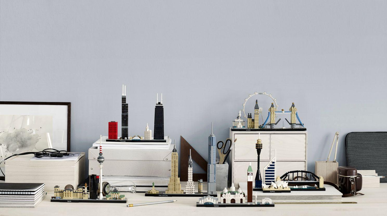 LEGO Architecture - element wystroju