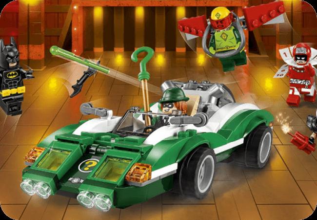 Klocki LEGO Batman - Funkcjonalne pojazdy