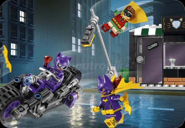 Klocki LEGO Batman - Kultowe pojazdy i postacie