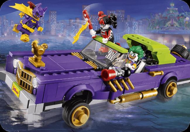 Klocki LEGO Batman - Solidne tworzywo