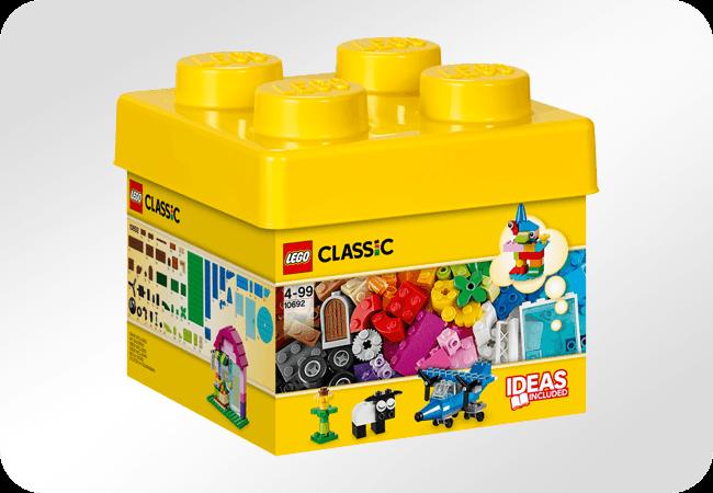 Klocki LEGO Classic - Łatwość przechowywania
