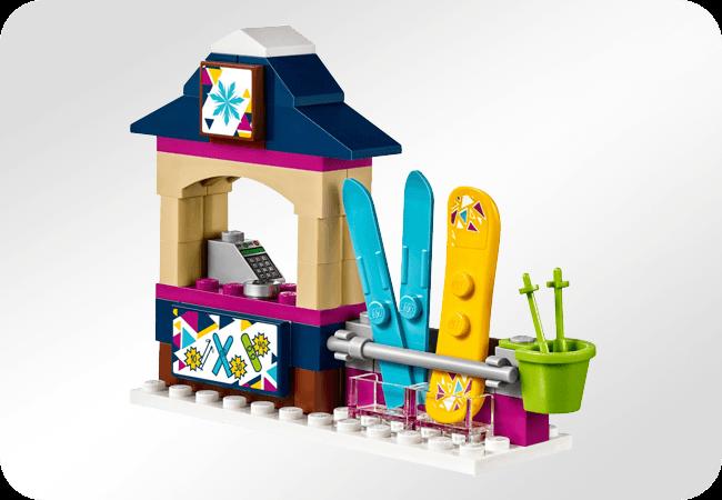Klocki LEGO Friends - Wysoka jakość wykonania