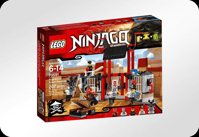 Klocki LEGO Ninjago - Dla bohaterów