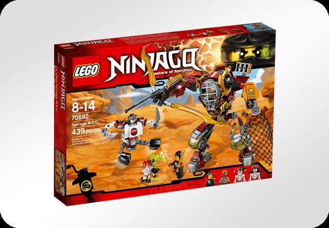 Klocki LEGO Ninjago - Doskonałe na prezent