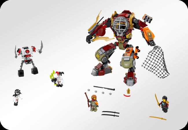 Klocki LEGO Ninjago - Funkcja rozwojowa