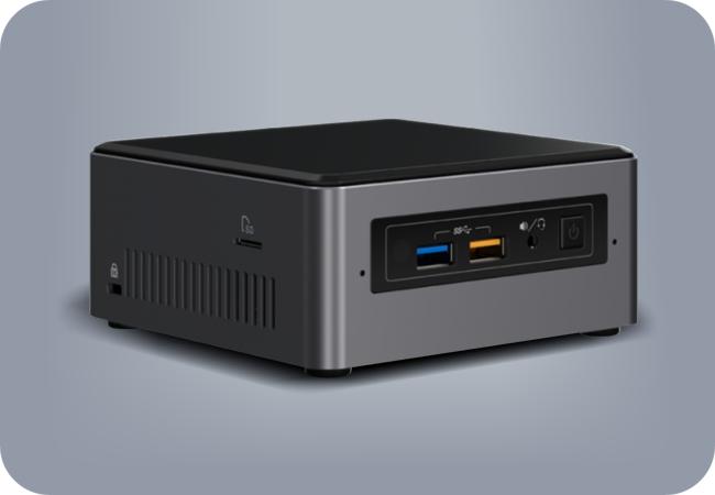 Komputronik NUC ECO - przykładowy wygląd