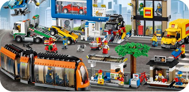 Lego City - przykładowy zestaw