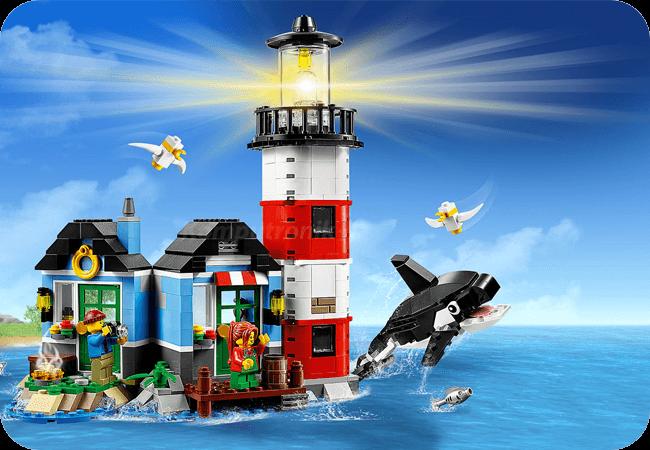 Klocki LEGO Creator - Dla chłopców i dziewczynek