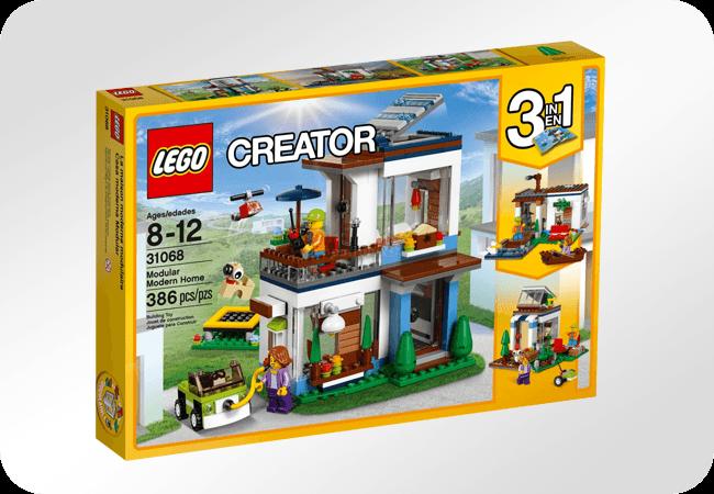 Klocki LEGO Creator - Pobudzają wyobraźnię