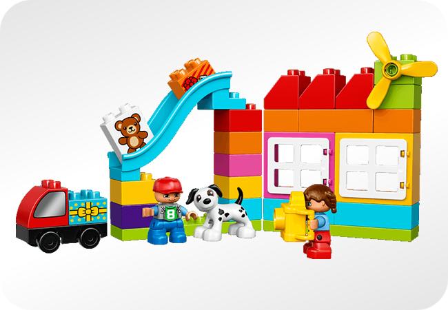Zestaw Lego Duplo - przykład