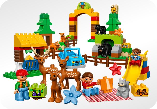 Lego Duplo - przykładowy zestaw