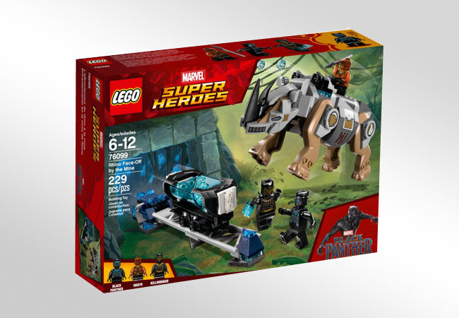 LEGO Super Heroes - opakowanie