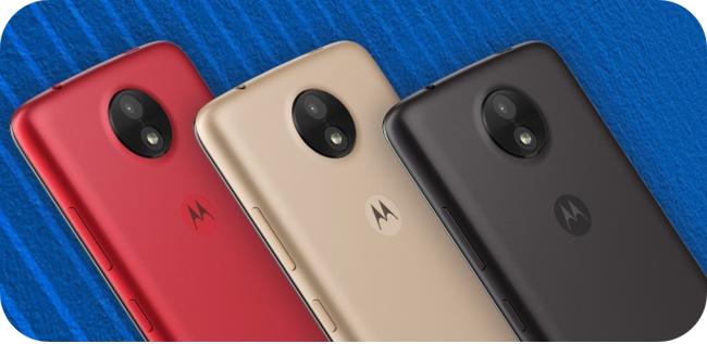 Motorola Moto C - obudowa