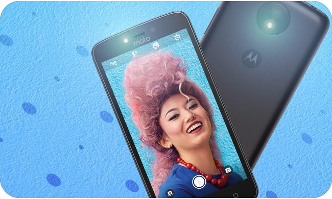 Motorola Moto C Plus - selfie