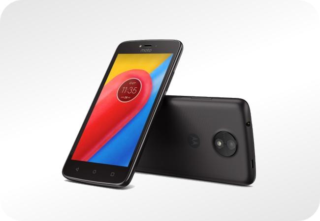 Motorola Moto C - wygląd