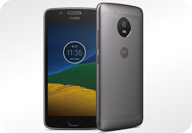 Motorola Moto G5 - wygląd z przodu