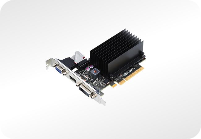 NVIDIA GeForce GT 710 - przykładowy wygląd