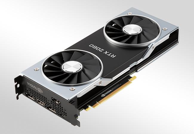 NVIDIA GeForce RTX 2080 - wygląd