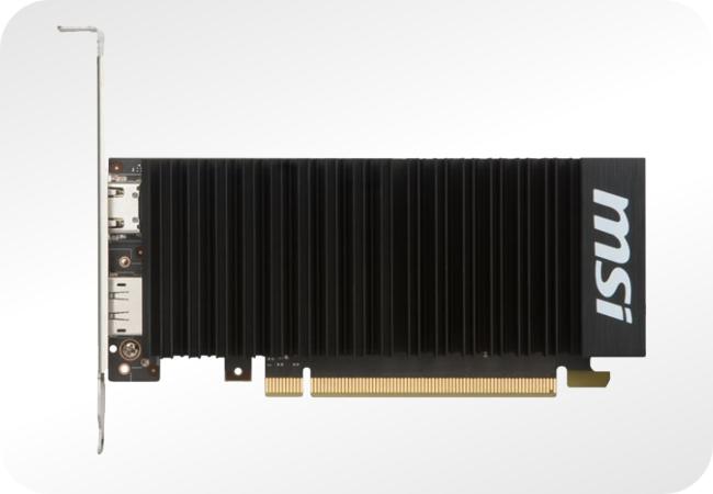 NVIDIA GeForce GT 1030 - przykład