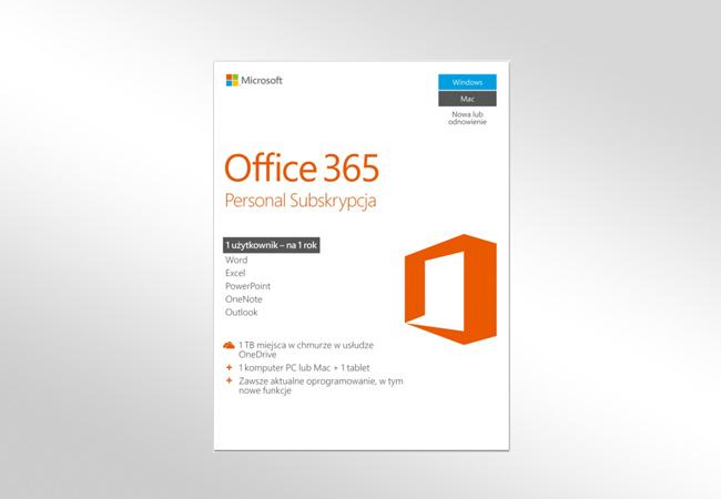 Office 365 Personal - pakiet aplikacji biurowych