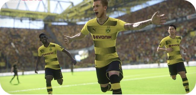 Pro Evolution Soccer 2018 - grafika
