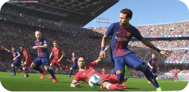 Pro Evolution Soccer 2018 - kontrola nad piłką
