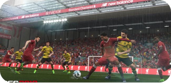 Pro Evolution Soccer 2018 - zrzut ekranu