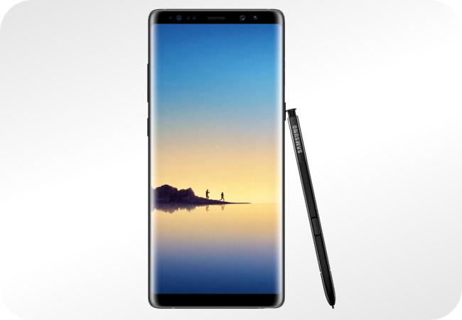 Samsung Galaxy Note 8 64GB Dual SIM (N950) - wygląd z przodu